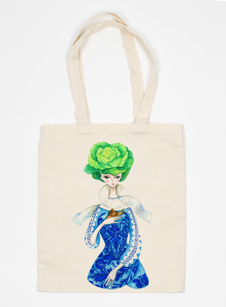 Girl With The Snail Urban Bag