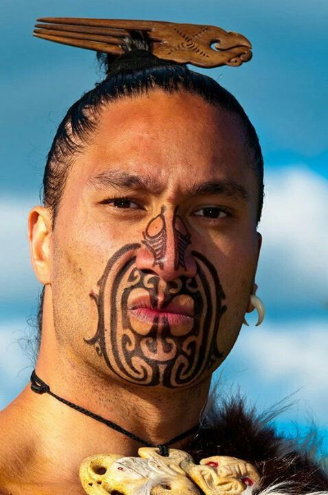 Maori Warrior Tattoos: Pin De Nancy Varela En Aboriginal And Tribal