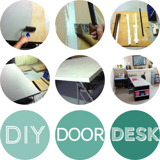 Diy Door Desk Ideas 18 best office idea images on pinterest | home, home office and