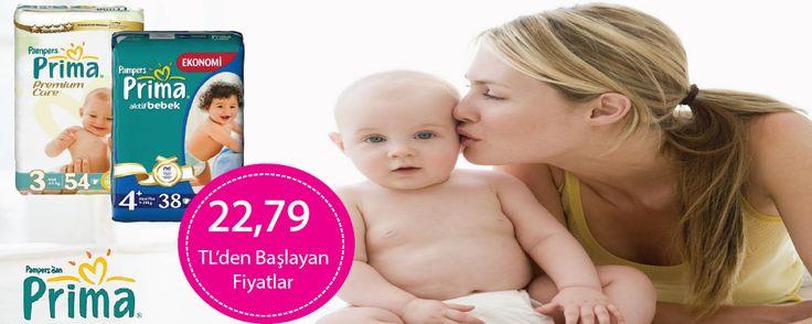 Prima Bebek Bezleri 22,79 TL'den başlayan Fiyatlarla