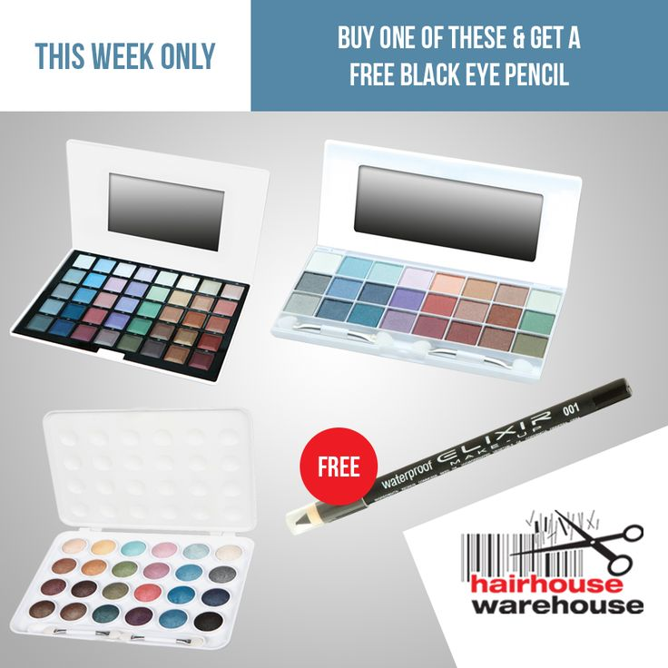 HOT DEAL! Buy one of these & get a Black Eye Pencil FREE! THIS WEEK ONLY! Buy here: https://www.hairhousewarehouse.co.za/hot-deals?utm_source=Social&utm_medium=Facebook_Paid&utm_campaign=Boosted-Post&utm_content=Weekly-Deal-3-Eye-Pencil