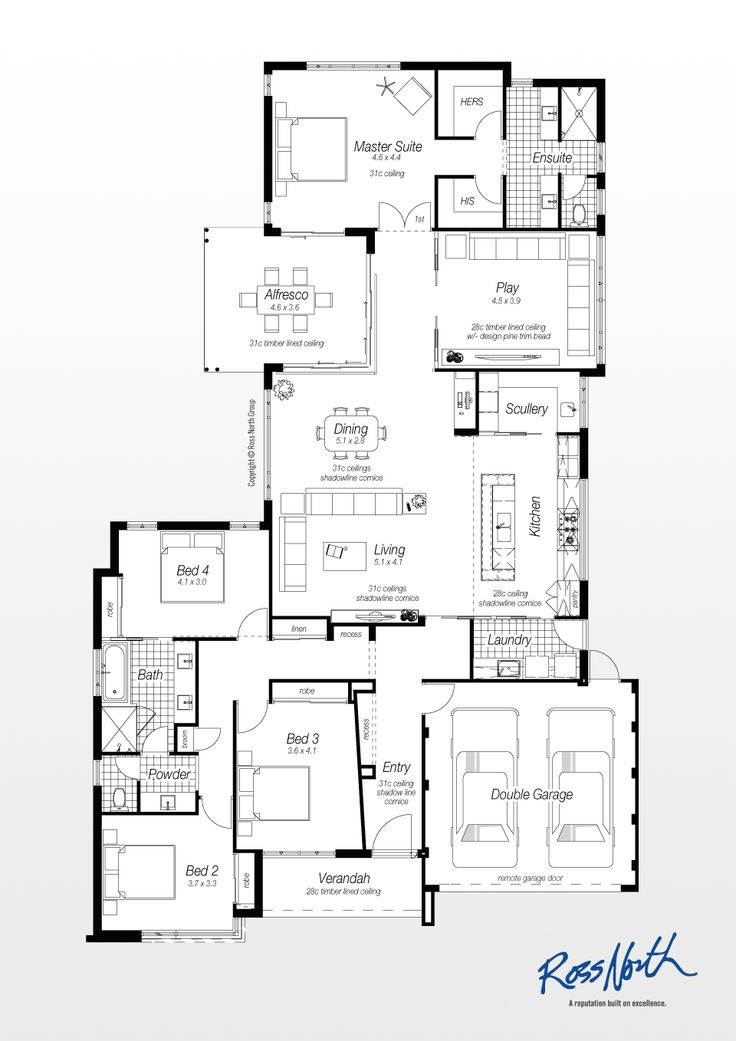 33 best lowset house plans images on pinterest for Ross north home designs
