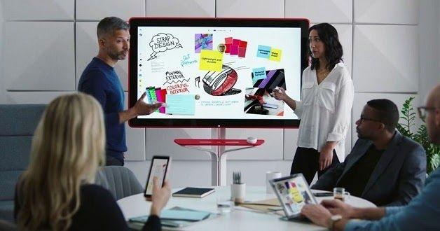 La pizarra digital se reinventa: es inteligente, permite colaborar en tiempo real, se integra con los dispositivos de los usuarios y perm...