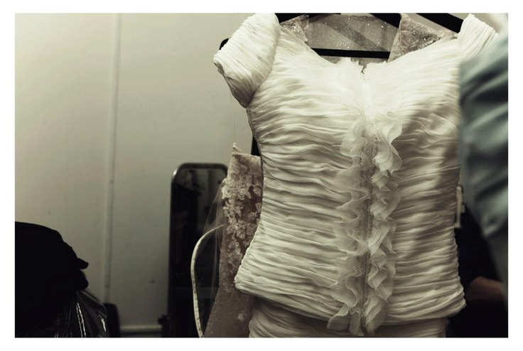 Making of SS12 show in One Mayfair, London