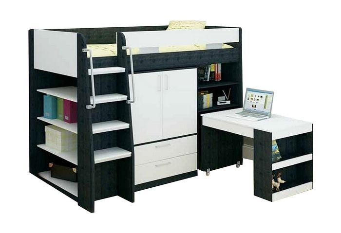 King Single Beds With Desk : Images about kids bedroom on jazz king