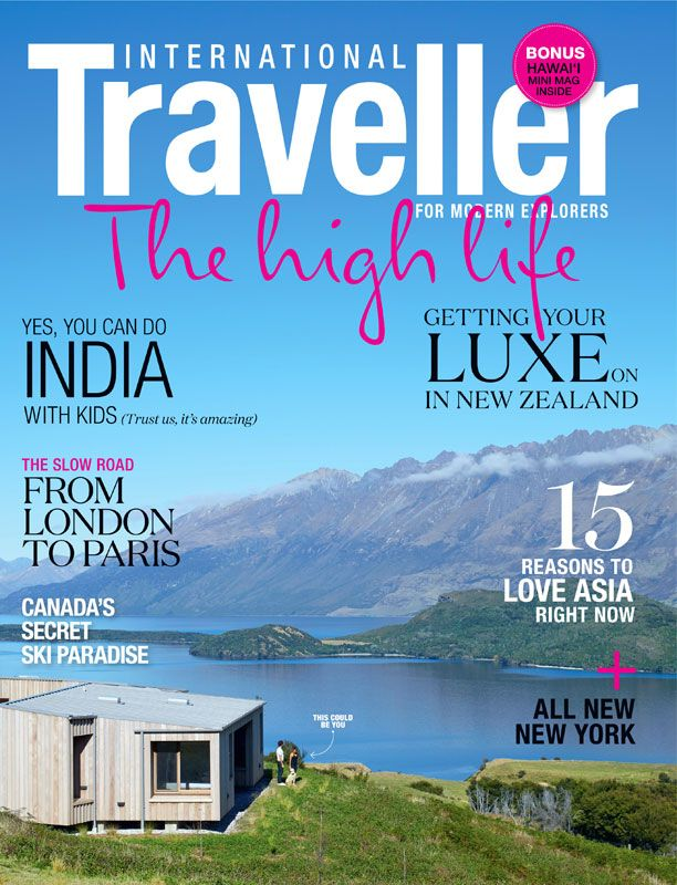 Issue 18 of International Traveller magazine, featuring our luxury special.