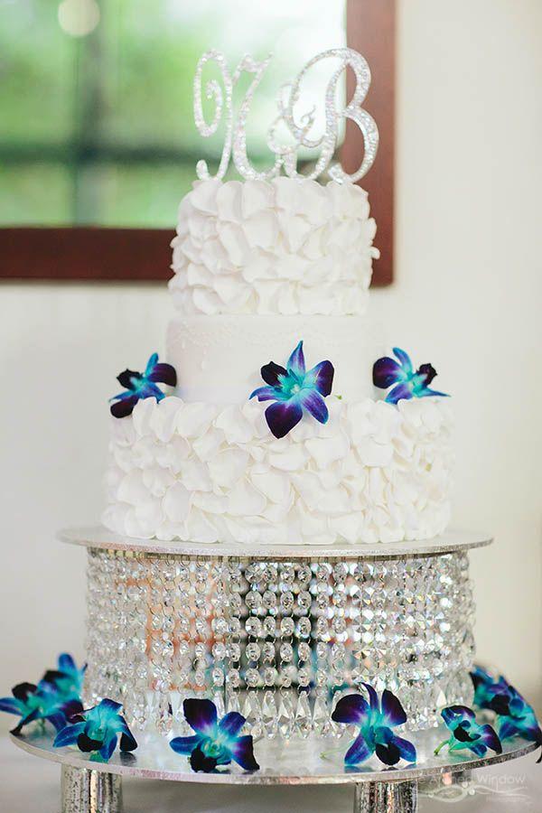 jewel bling diamond cake table tier for wedding reception