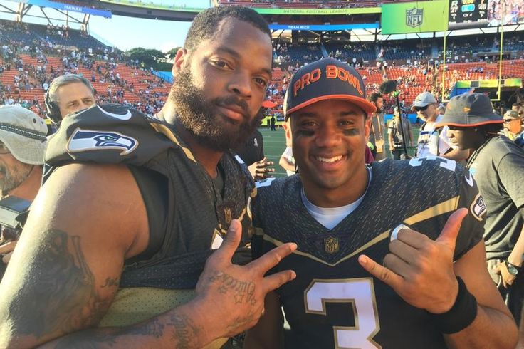 Seahawks quarterback Russell Wilson and defensive end Michael Bennett came away with player of the game honors for their performances in the 2016 Pro Bowl at Honolulu's Aloha Stadium.