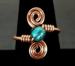 """Résultat de recherche d'images pour """"copper wire ring"""""""