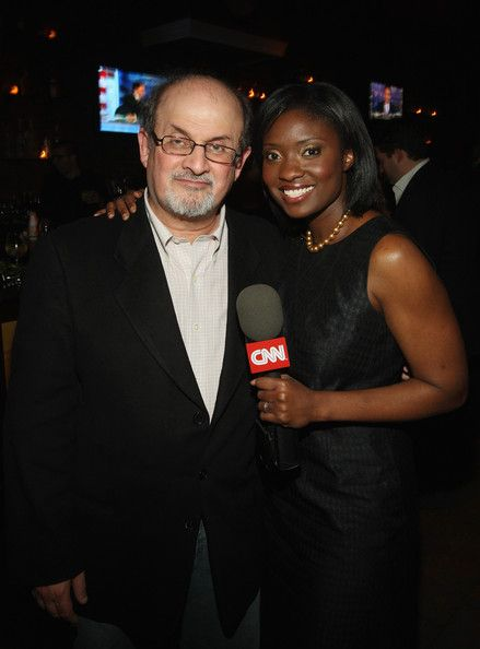 Salman Rushdie & Lola Ogunnaike - Bipartisan Election Night Party