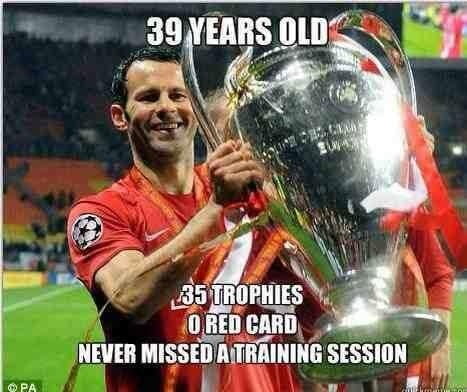 Ryan Giggs ladies and gentlemen.