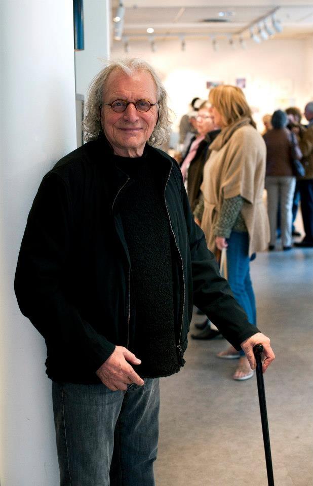#Frans Widerberg kom på #Nico #Widerberg uke og kunstnertreff i #Galleri #Fineart