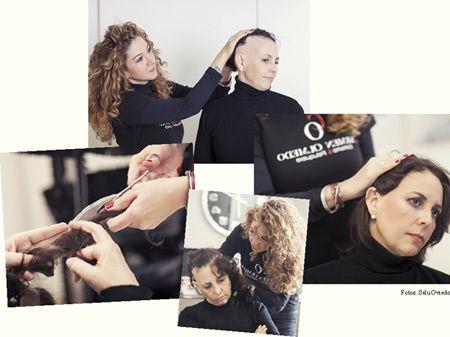 Montaje alopecia mujer de Carmen Olmedo