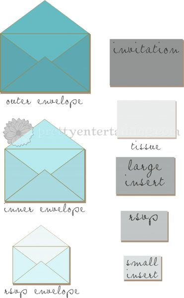 163 best wedding invitations images on pinterest cards how to assemble your wedding invitations junglespirit Image collections