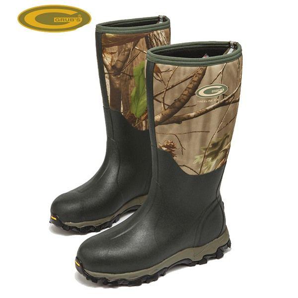 Grubs Treeline 8.5 Wellington Field Boots are perfect for outdoor leisure activities.