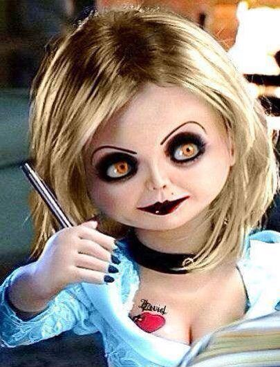 Tiffany Valentine Costume: Tiffany Ray Jennifer Tilly The Bride Of Chucky