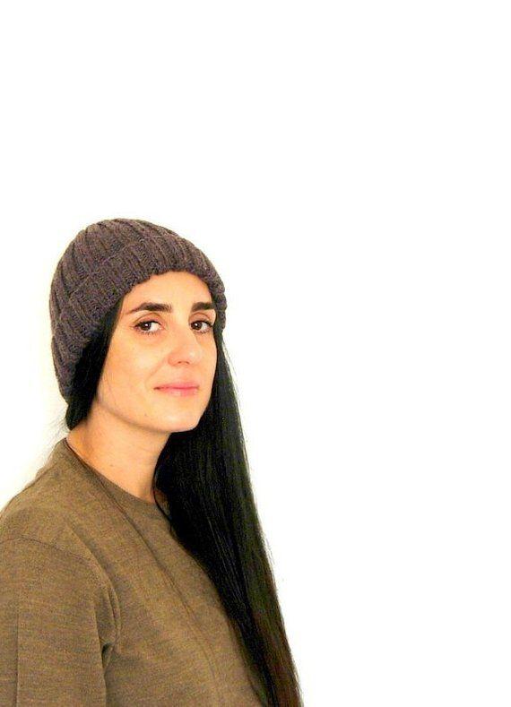 8679bd84adf Brown wool hat