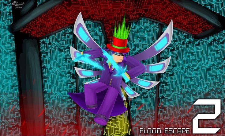 Flood Escape 2 Fan Art By Provinciaa1 In 2021 Fan Art Art Roblox
