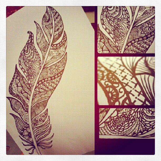 Henna Feather: Il Dolce Far Niente