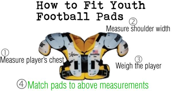 How to Fit Youth Football Pads (read more on our blog: http://blog.mmarmedical.com/2014/08/how-to-fit-football-shoulder-pads.html)