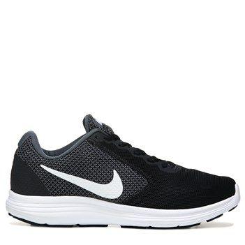 Nike Men's Revolution 3 X-Wide Running Shoes (Grey/White/Black)