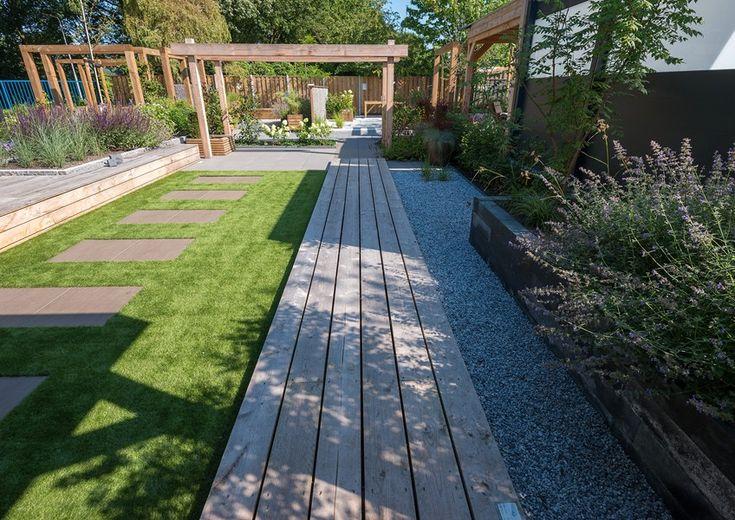 De 161 beste afbeeldingen over tuin op pinterest tuinen tuin en buxus - Moderne buitentuin ...
