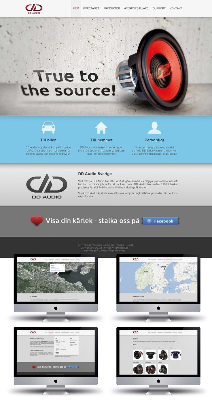 DD Audio Sweden, http://ddaudio.se
