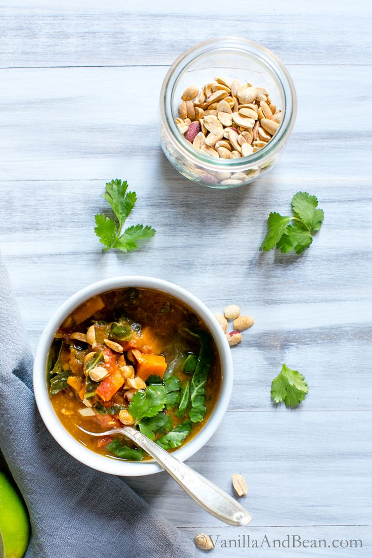 77 best winter vegan recipes images on pinterest vegan food sweet potato peanut chipotle soup with wilted greens vanilla and bean clean food recipessoup recipesvegetarian forumfinder Choice Image