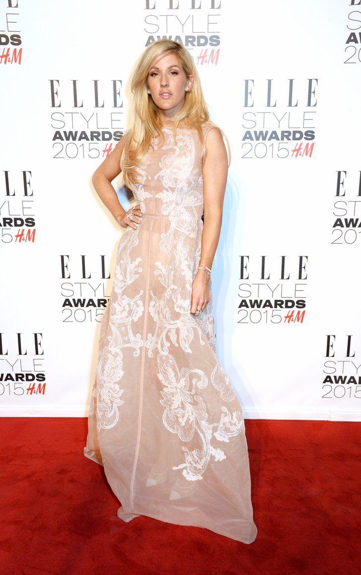 Pin for Later: Que Seraient les Elle Style Awards Sans de Superbes Tenues? Ellie Goulding