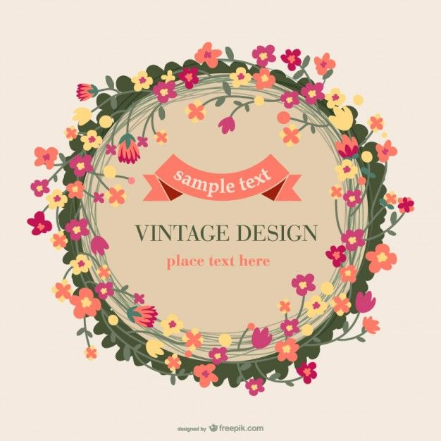 30 best Flowers images on Pinterest Vectors, Free vector art and Cards - fresh invitation banner vector
