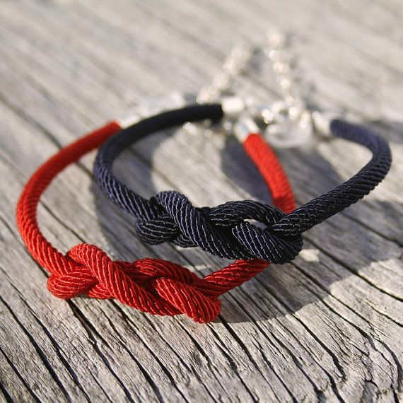 35 best Rope Bracelet images on Pinterest Nautical jewelry Anchor