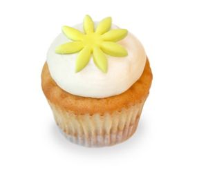 Seasonal Flavor: Key Lime Pie Cupcakes. A vanilla cupcake filled with organic local strawberries and cream... (now thru Aug. 2013). #karascupcakes