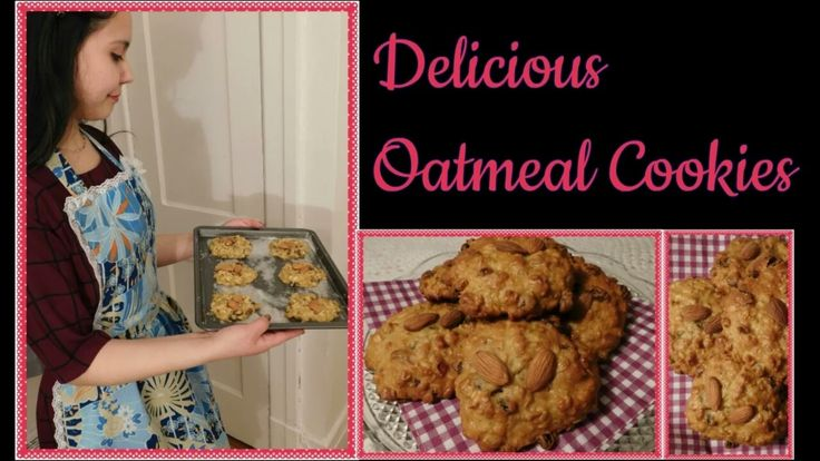 Learn to make really quick and delicious oatmeal cookies!! :D Subscribe to my Youtube channel: TheVintageFlower ! 💟