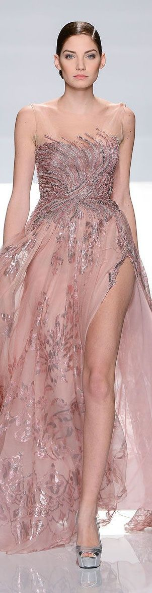 ♥ mauve~dusty rose ♥  by Tony Ward Couture