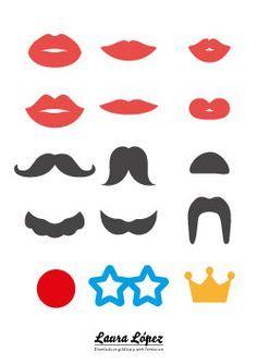 labios bigotes fotomaton lauralofer