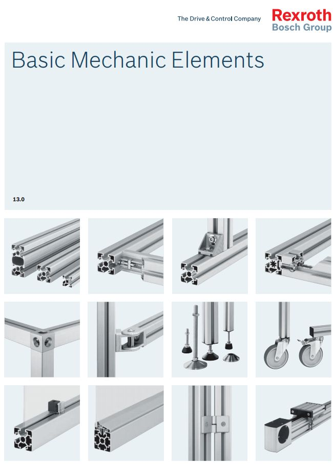 New Corexy Design Mounting Linear Guide Rail On Aluminium Extrusion