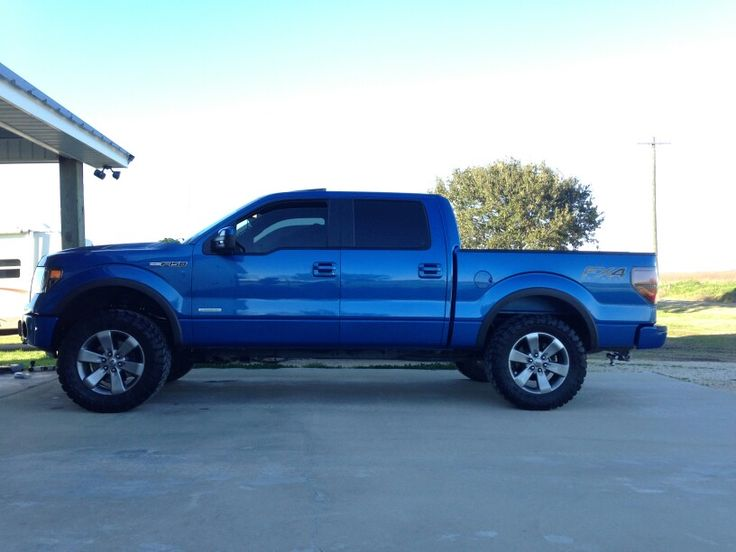 Leveled N Lifted  C B Lifted Ford Flifted