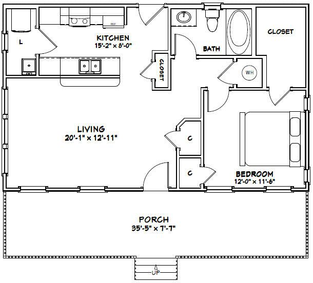 36x22 House 36x22h1 790 Sq Ft Possibilities Mtv House And Combo Of Other Most Fav Layo Basement House Plans Small House Plans Small House Floor Plans
