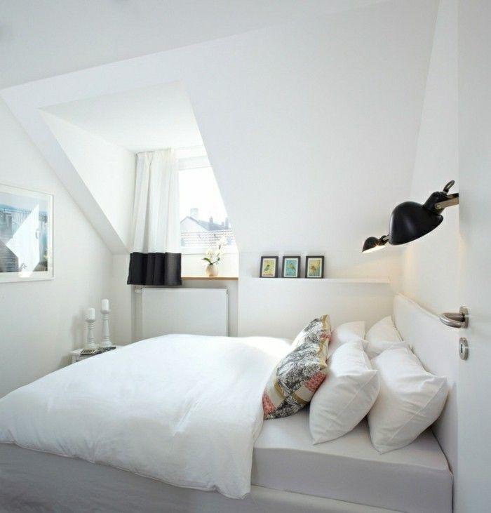 Schlafzimmer inspiration dachschräge  Die besten 25+ Weißes schlafzimmer Ideen auf Pinterest | Weisses ...