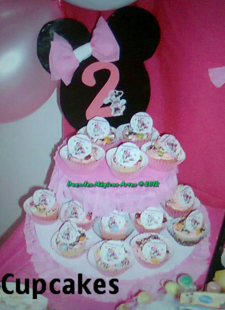 Cupcakes com hóstia