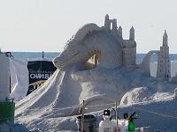 Siesta Key Beach Sand Castles ~