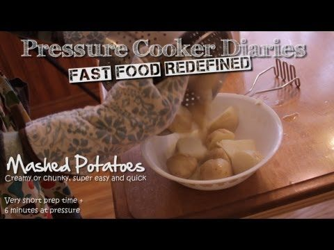 how to cook potaoes in a preassure cooker
