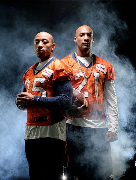 The Denver Broncos now possess one of the strongest tandems in the NFL at cornerback with Chris Harris Jr left and Aqib Talib