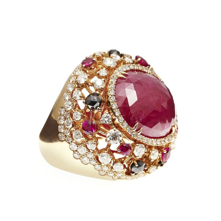 34 Best Ruby And Diamond Rings Amp Jewelry Images On
