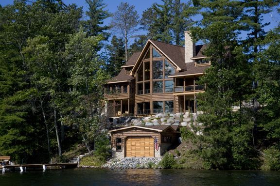 Home Company Lake Delton Wi Home By Wisconsin Log Homes The Log Home
