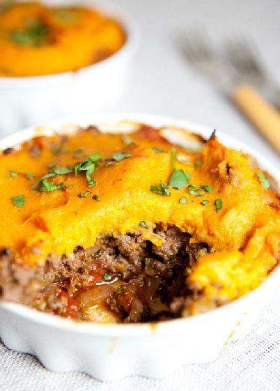 Low FODMAP Recipe and Gluten Free Recipe - Shepherd's pie with pumpkin mash   www.ibs-health.co...