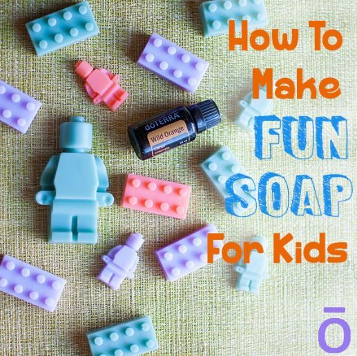 DIY How to Make Fun Soap For Kids Recipe