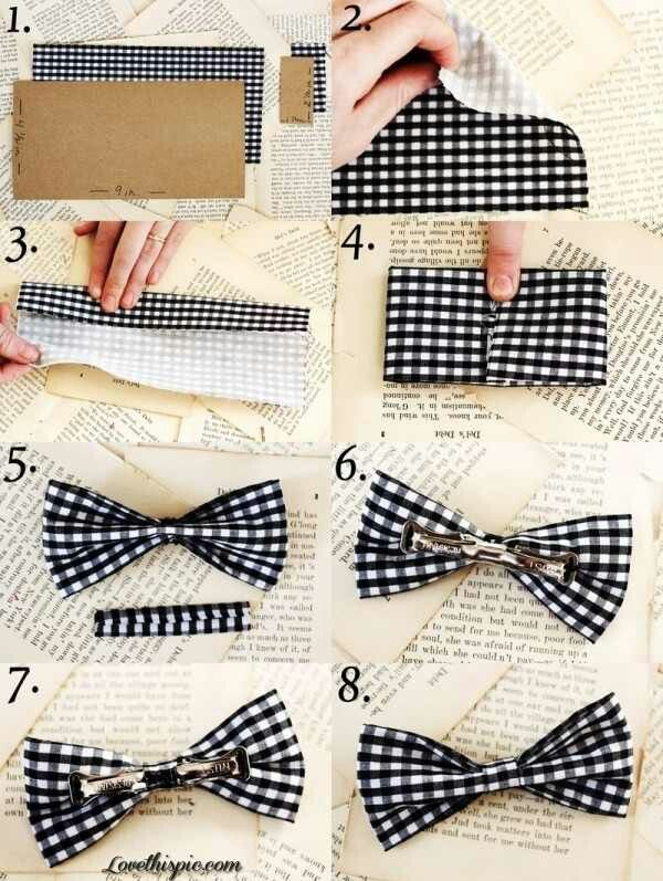 No Sew Bow Tie Pattern Gallery - origami instructions easy for kids