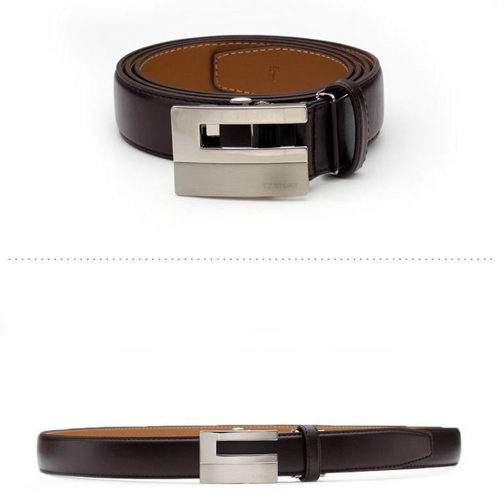 T.Z STONE Belts Italy Leather Casual Men's Waist New Belt Accessories TZ1D302DB #TZStone