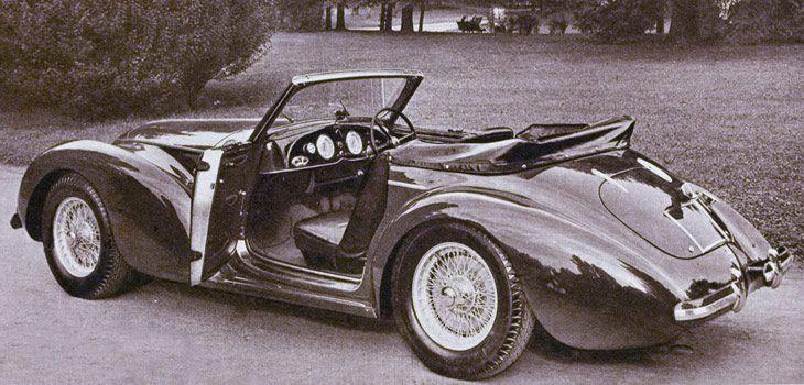 Carrozzeria Touring Superleggera Srl Superleggera Touring Antique Cars